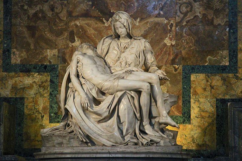 Michelangelo: Pietà in the Basilica di San Pietro