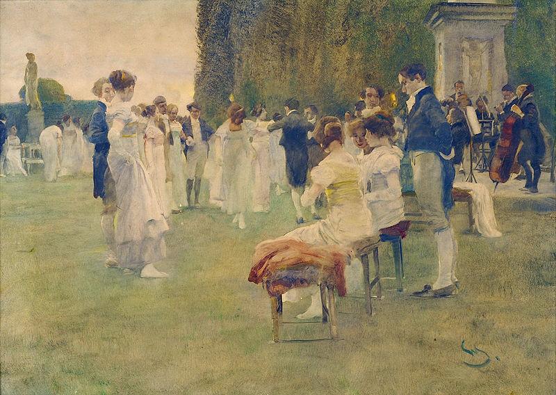 Wilhelm Schreuer: Das Konzert im Schlossgarten
