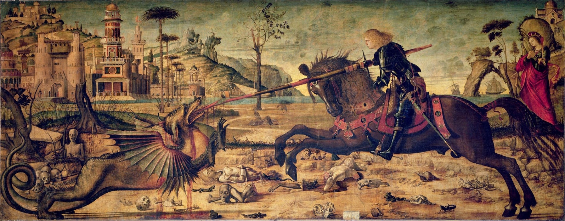 Vittore Carpaccio: St. George and the Dragon, 1502.