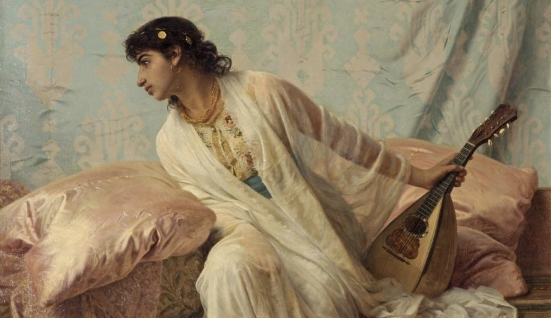 Edwin Longsden Long: Then to Her Listening Ear Responsive Chords Came Familiar, Sweet and Low, 1881.