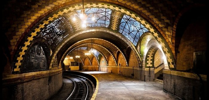 Many are surprised by the beauty of New York City's City Hall subway station, hidden underground.
